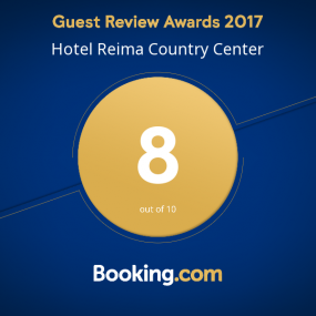 Booking.com Guest Review Award 2017 Hotelli Reima Country Center 8/10